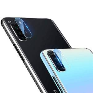 Transparent Full Coverage Tempered Glass Camera Lens Protector for Redmi Note 8