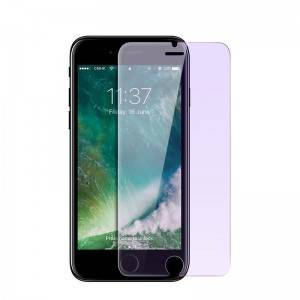 iPhone 8 Relieve Eye Fatigue Blocks Excessive Harmful Blue Light Glass Protector