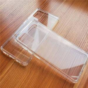 Tempered Glass Hard Back Protective Cover Soft TPU Bumper Case for Samsung Galaxy S20