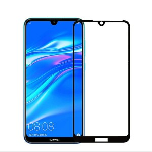 2019 New Style Premium 2.5D Full Screen Glue Glass Screen Protector For Huawei Y7 Pro