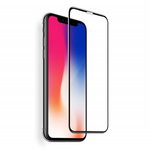iPhone X Screen Protector 3D Gummed Glue Tempered Glass