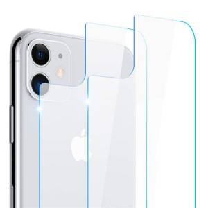 9H Hardness Tempered Glass Back Film Case Replacement for Apple iPhone 11
