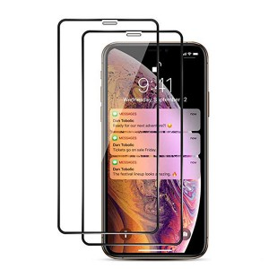 iPhone XS Nano Tempered Glass Screen Protector 3D Gummed Glue