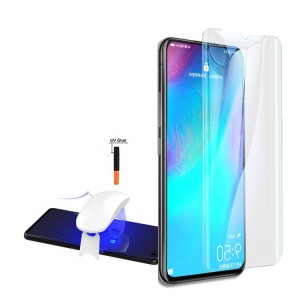 Full Glue Nano Optics Light UV Glass for Huawei P30 Pro