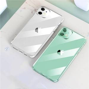 iPhone 11 9H Scratch-Resistant Tempered Glass Protection Phone Case