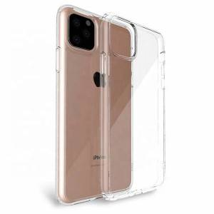 Crystal Clear 9H Tempered Glass Phone Case For iPhone 11 Pro