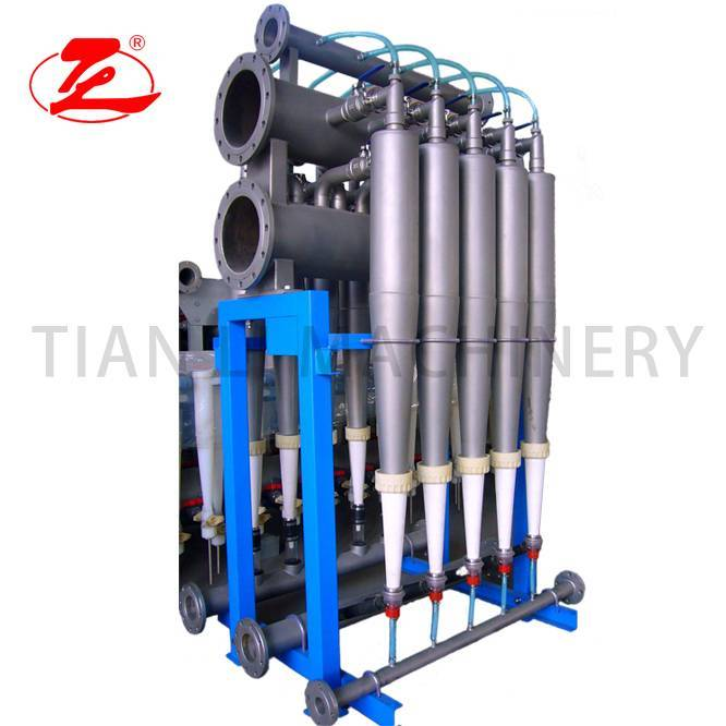 Best Price for Pulp Beating Machine - TSC-400 High Efficiency H.W Cleaner – Tianli
