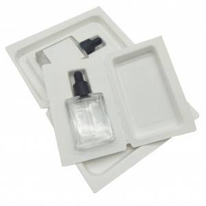 factory outlets customized sugarcane pulp perfume pulp paper tray