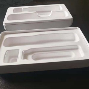 Wet-pressed cross-cutting top quality Pulp molding 10