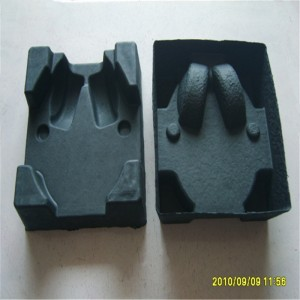 Dry pressed black and dyed paper holders 12