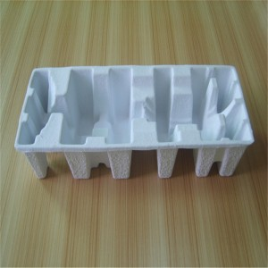 Dry-pressed white pulp paper holder 02