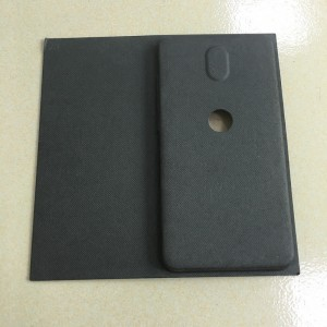 Wet-pressed black Pulp molding 04