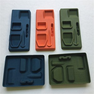 Wet-pressed black Pulp molding 06