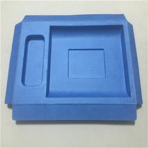 Wet-pressed cross-cutting top quality Pulp molding 07