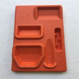 Wet-pressed cross-cutting top quality Pulp molding 08