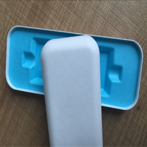 Wet-pressed cross-cutting top quality Pulp molding 09