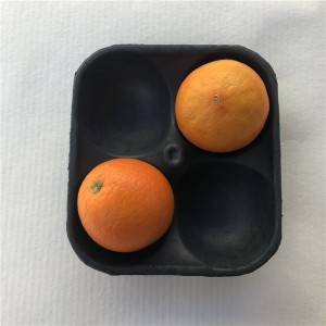 Eco-Friendly Biodegradable Disposable Molded Food Tray for Meat&Fruit Tray