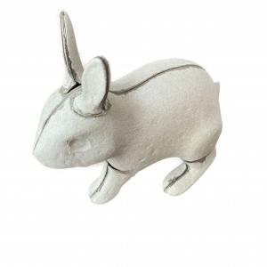 factory supplier custom biodegradable eco friend molded pulp animal craft decorations