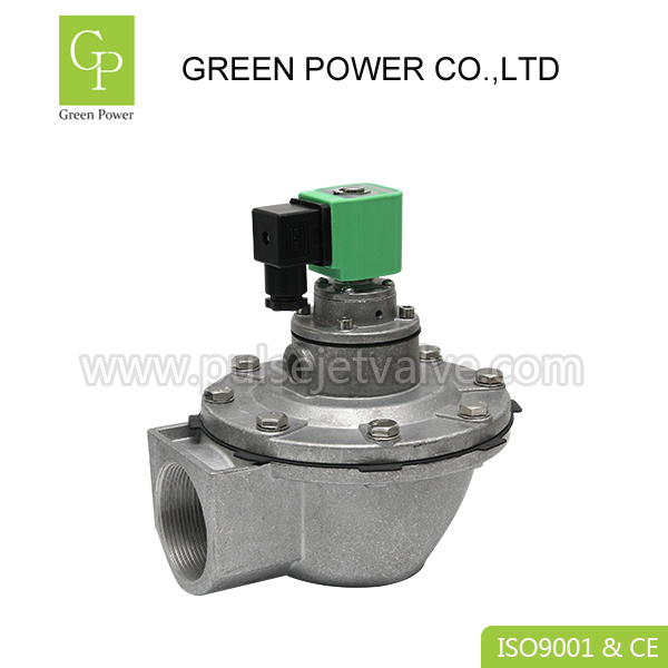DMF Right angle pulse valve DMF-Z-50S , DC24 2/2 way DN50 2 inch diaphragm valve Featured Image