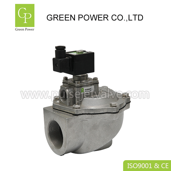 Factory source 6pin Spring Pin Connector - High Flow right angle ASCO 2″ threaded SCG353A050 0.35-0.85Mpa pulse valve DC24 / AC220 – Green Power