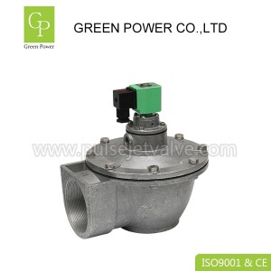 DMF Right angle pulse valve DMF-Z-50S , DC24 2/2 way DN50 2 inch diaphragm valve