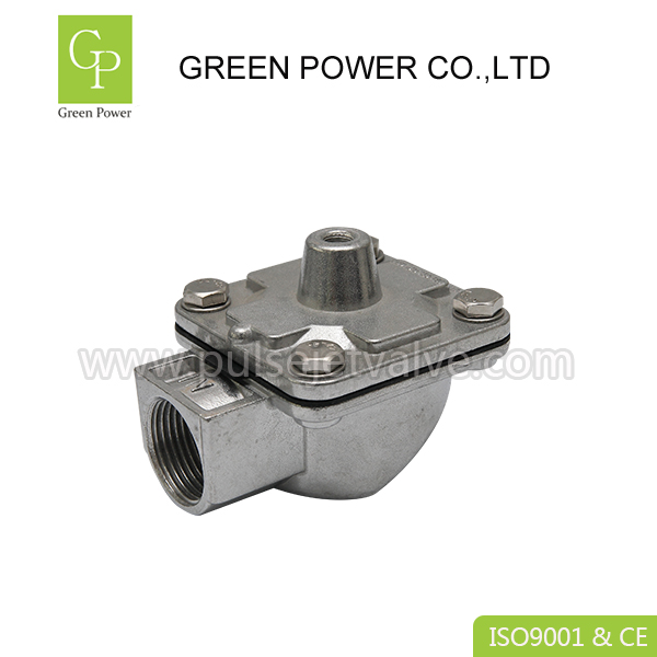 Factory Price For Pilot Valves - RCA-25T threaded 1″ remote pilot control goyen right gngle diaphragm pulse jet valves – Green Power