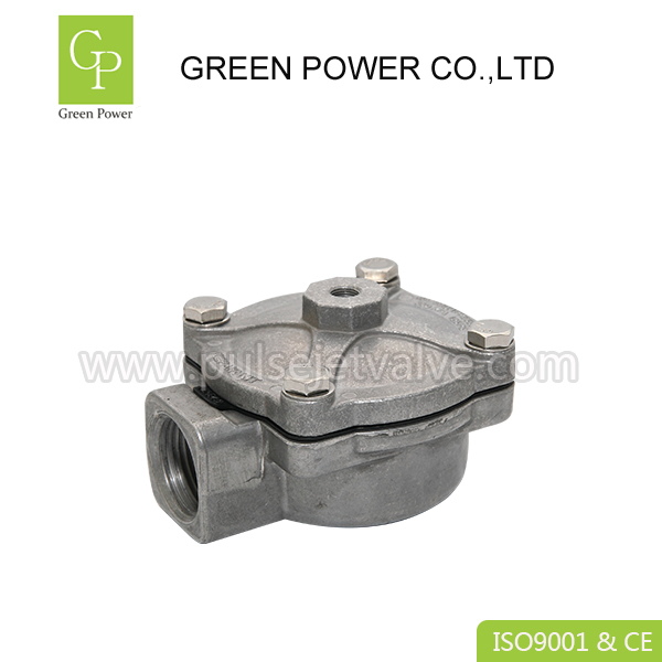 China OEM 12 Volt Solenoid Valve - CA-35T, RCA-35T DIN43650A connector 230VAC IP65 goyen pulse jet valves – Green Power detail pictures