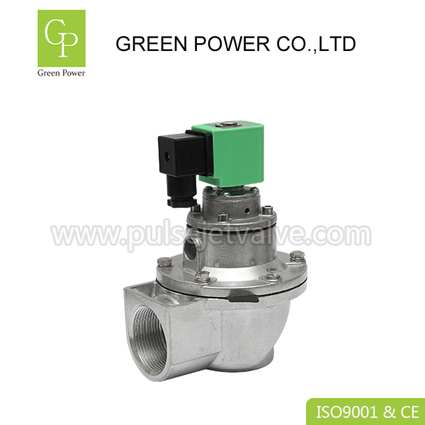 DMF right angle structure pulse jet valves DMF-Z-40S , DN40 1.5 inch diaphragm valve