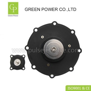 Short Lead Time for Pvc Door Making Machine - DN40 SCG353A047 asco C113827 diaphragm repair kits – Green Power