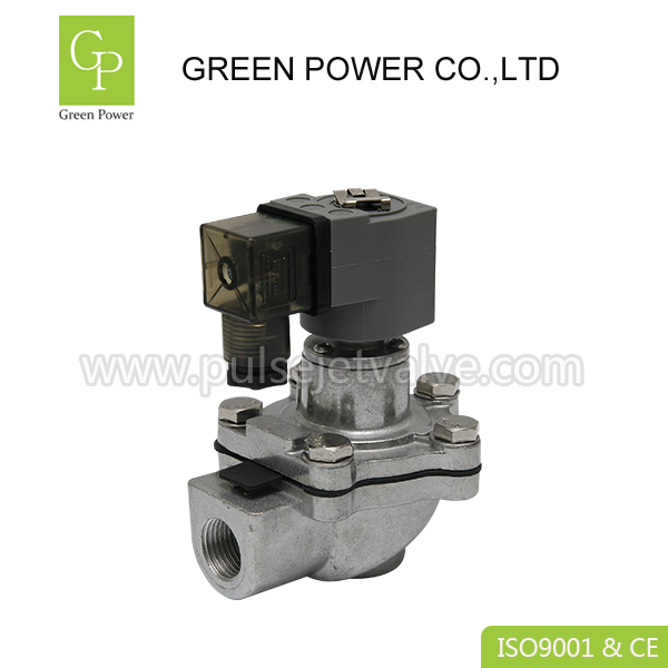 Fixed Competitive Price Dc24v Solenoid Valve - CA15T RCA15T 1/2″ miniature T series DC24V AC220V goyen threaded pulse valve – Green Power