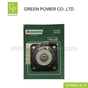 Chinese wholesale Pneumatic Pulse Jet Valve - K2503 diaphragm repair kits viton membrane CA25T CA25DD goyen pulse valve  – Green Power