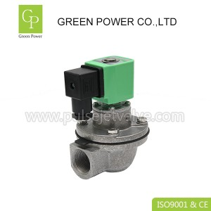 Factory Cheap Hot Quick Coupling Fittings - DMF-Z-20 3/4″ right angle miniature pulse jet valves DN20 AC220V DC24V – Green Power