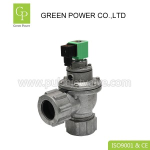 OEM/ODM China Pneumatic Electric Solenoid Valve - 40 NB pilot double diaphragm dressure nut port pulse jet valve DMF-ZM-40S DV24/ AC220V – Green Power