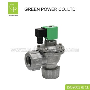 Diaphragm valve with dresser nut couplings