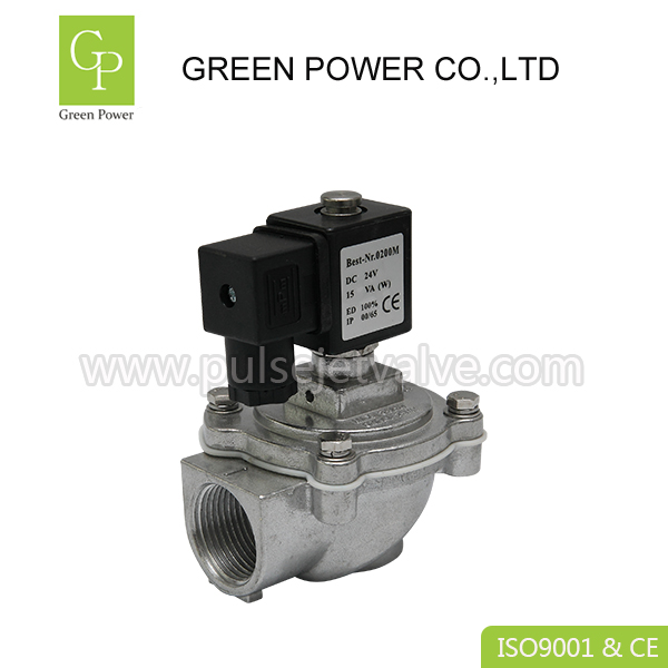 Manufacturer of Electric Dust Collector - AC220V DC24V 1″ ASCO SCG353A044J economic type right angle pulse valve – Green Power