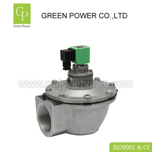 China Manufacturer for Installing Air Filter - DMF-Z-62S bag house pulse valve, DC24V DN62 2.5 inch diaphragm valve for dust collector – Green Power