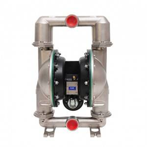 pneumatic air double milk diaphragm pump manufacturer sanitary diaphragm pumps
