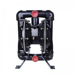 air operated low noise double suction sludge water pump