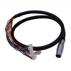 3B 22 pins male plug to terminal cable