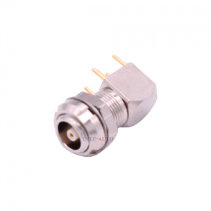 INT-ZPS 00S Elbow Coaxial Socket M7 Female Connector For Printed Circuit Board Featured Image