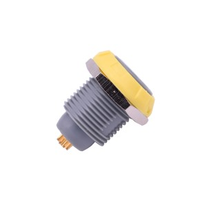INT-P-ZKG Yellow Color Self-latching Plastic Connector Female Gender