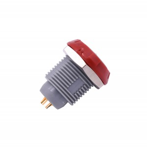 INT-P-ZKG Red Plastic Connector Fixed Socket for Medical Equipment