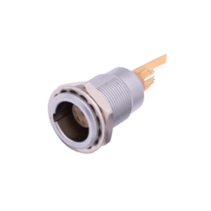 INT-ZNG B series Metal Fixed Receptacle Connector with Grounding Tab