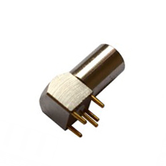 INT-ZPL 00S series Elbow Coaxial Female Receptacle M7 Size Connector Featured Image