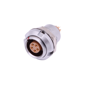 INT-ZCG B Series Circular Metal Female Gender Audio Video Connector