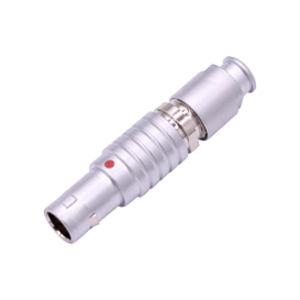 INT-TGG Fluidic Metal Circular Push Pull Male Connector B series Hybrid Connector