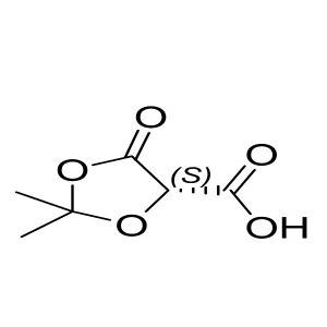 (S)-2,2-dimethyl-5-oxo-1,3-dioxolane-4-carboxylic acid CAS:73991-95-4