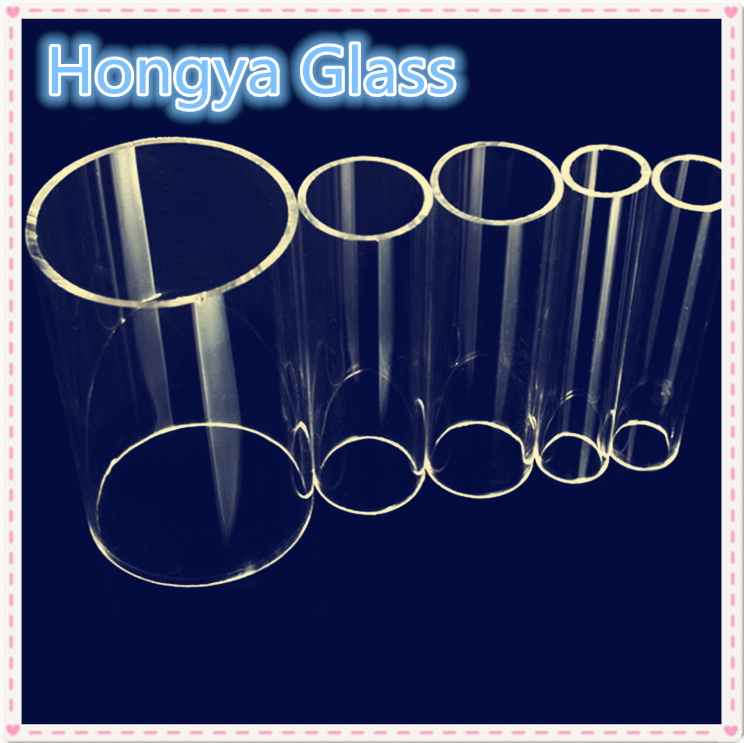 100-400mm OD large size clear durable borosilicate glass tube Featured Image