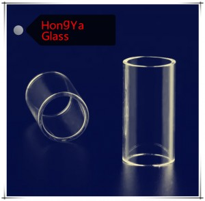 Clear high borosilicate glass tubes