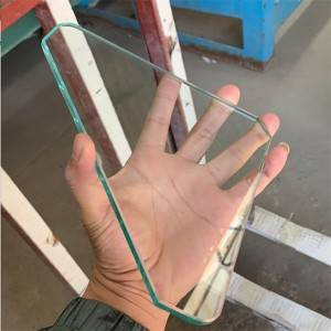 5mm 6mm 8mm Safety Glass Cut to Size Edge Polished Tempered Glass Shelves